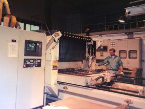 Bilder aus dem Jahr 1995: 1 Jahr nach der Gründung von Laser Pro Tec