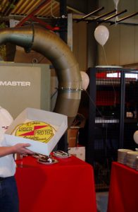 Bilder aus 2004: 10 Jahre Laser Pro Tec