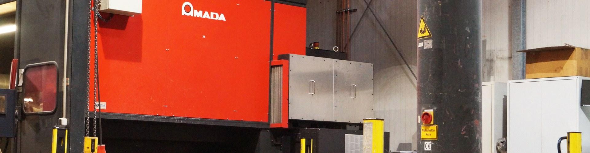 Amada laserschneiden lohnfertigung hsk nrw 2d 3d